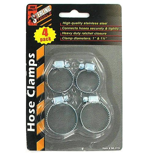 Stainless Steel Hose Clamps ( Case of 72 )