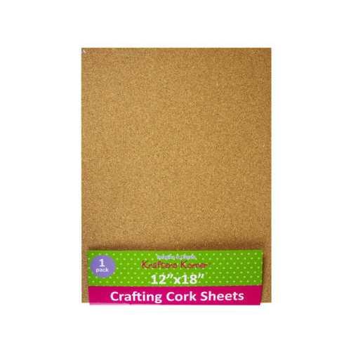 Crafting Cork Sheet ( Case of 24 )