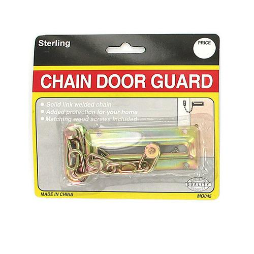 Chain Door Guard with Screws ( Case of 24 )