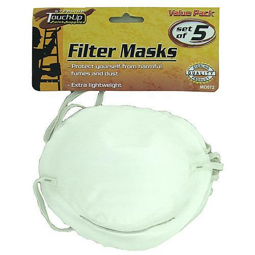 Disposable Filter Masks ( Case of 72 )