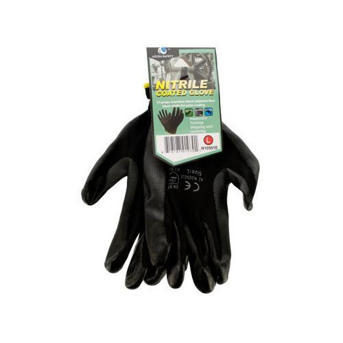Nitrile Coated Gloves ( Case of 12 )