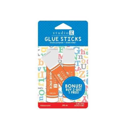 2+1 glue stick set ( Case of 72 )
