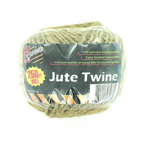 Natural Fiber Jute Twine ( Case of 24 )