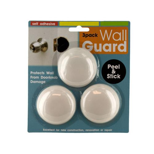Self-Adhesive Doorknob Wall Guard Set ( Case of 24 )