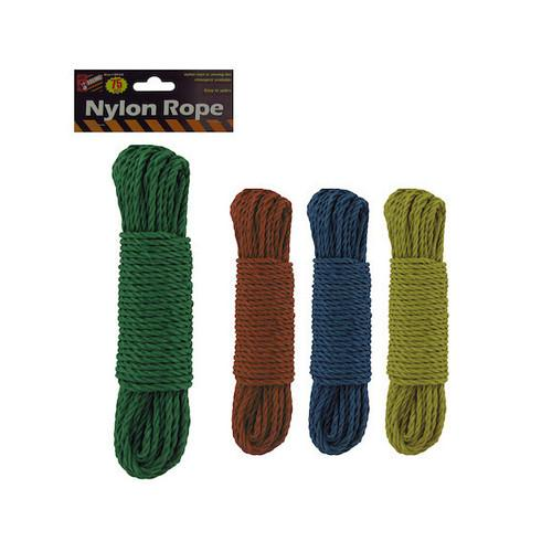Woven Nylon Rope ( Case of 24 )