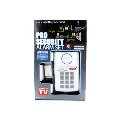 Secure Pro Keypad Alarm System ( Case of 3 )