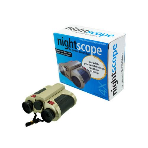 Night Scope Binoculars ( Case of 3 )