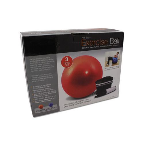 Exercise Ball with Pump ( Case of 2 )