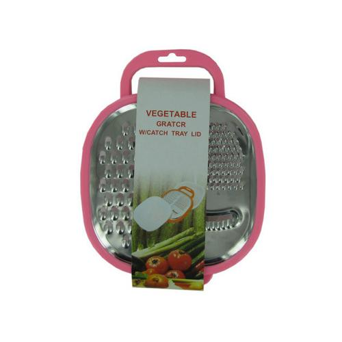 3 in 1 Multi-Grater with Snap-On Catch Tray ( Case of 8 )