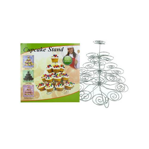 Decorative Metal Cupcake Stand ( Case of 3 )