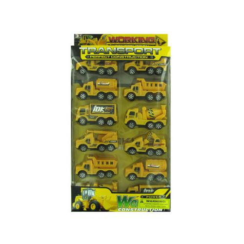 Construction Truck Toy Set ( Case of 8 )