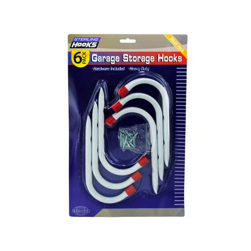 Garage Storage Hooks ( Case of 8 )