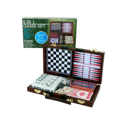 6 in 1 Game Set ( Case of 3 )