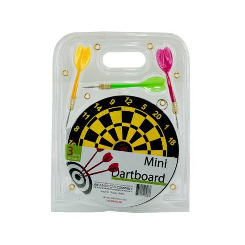 Mini Dartboard Set ( Case of 36 )