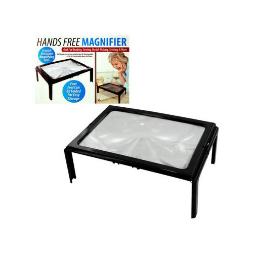 Hands Free Full Page Magnifier ( Case of 4 )
