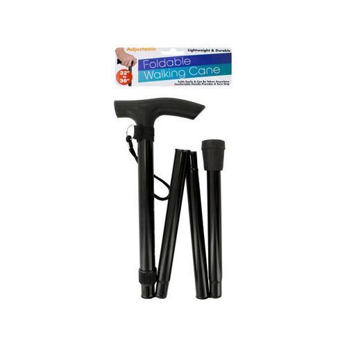 Adjustable Foldable Walking Cane ( Case of 16 )