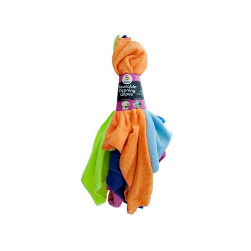 Microfiber Multi-Purpose Cleaning Cloths Set ( Case of 6 )