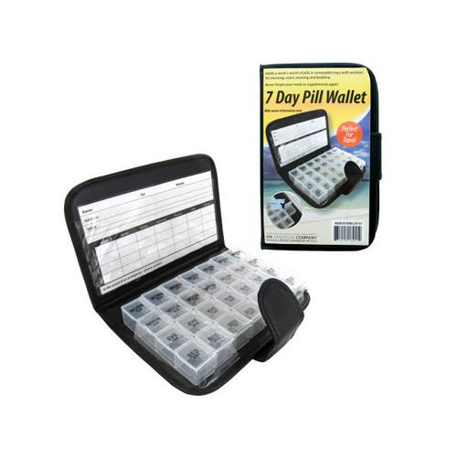7 Day Pill Wallet ( Case of 6 )