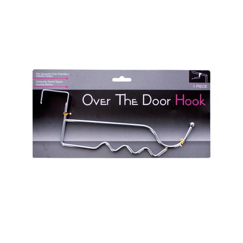 Over The Door Chrome Hook ( Case of 12 )