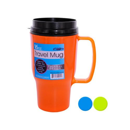 16 oz Thermal Travel Mug ( Case of 48 )