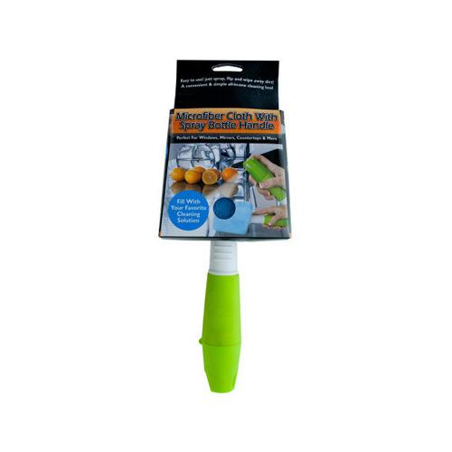 Microfiber Cloth With Spray Bottle Handle ( Case of 4 )