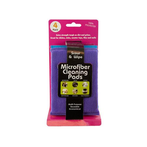 Multi-Purpose Microfiber Cleaning Pads ( Case of 48 )