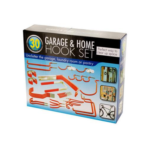 Assorted Garage & Home Hook Set ( Case of 4 )