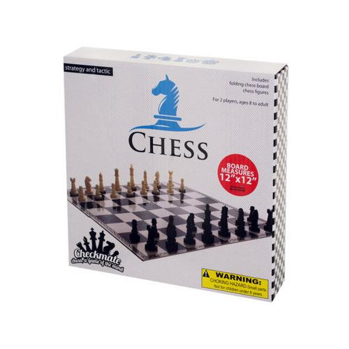 Folding Chess Game ( Case of 30 )