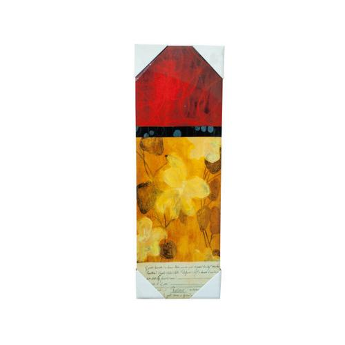 Abstract Red and Orange Wall Art ( Case of 3 )