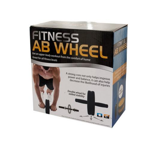Fitness Ab Wheel ( Case of 3 )