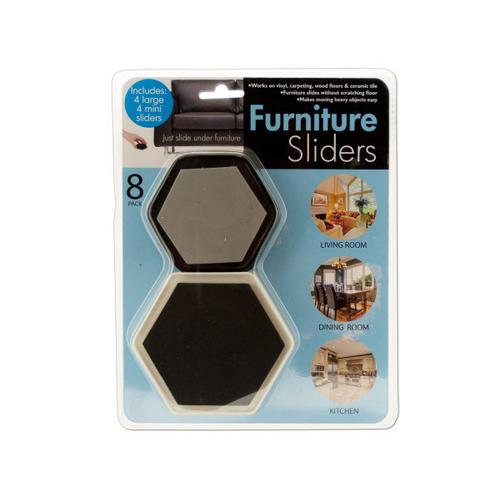 Furniture Sliders with Foam Padding ( Case of 8 )