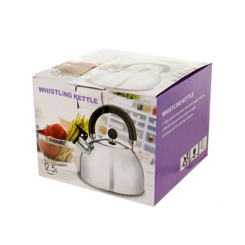 Whistling Stainless Steel Tea Kettle ( Case of 3 )