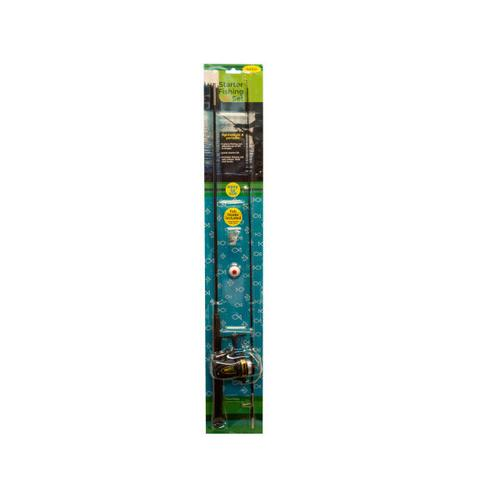 Junior Starter Fishing Set with Two-Piece Rod ( Case of 2 )