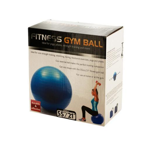 Small Fitness Gym Ball ( Case of 1 )