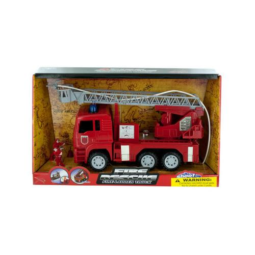 Fire Rescue Truck with Water Hose ( Case of 2 )