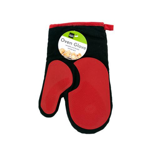 Heat Resistant Oven Glove with Silicone Grip ( Case of 4 )