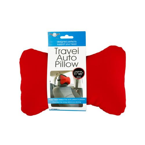 Travel Auto Pillow with Strap ( Case of 8 )