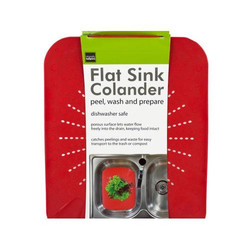 Flat Sink Colander ( Case of 6 )