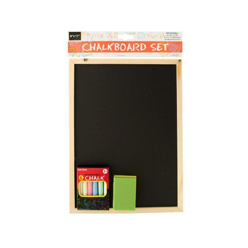 Wooden Chalkboard Set ( Case of 6 )