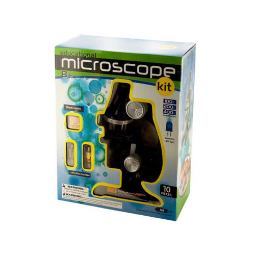 Educational Microscope Kit ( Case of 4 )