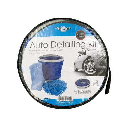 Car Wash Kit with Collapsible Bucket ( Case of 1 )