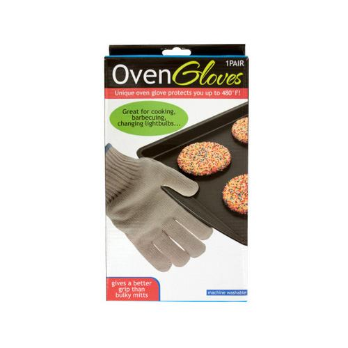 Heat Resistant Oven Gloves ( Case of 5 )