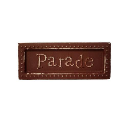 Parade Mini Metal Sign Magnet ( Case of 18 )