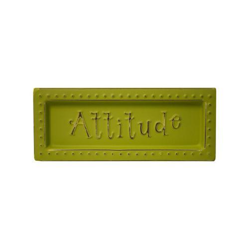 Attitude Mini Metal Sign Magnet ( Case of 28 )