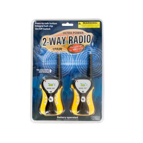 Ultra Power 2-Way Radio Set ( Case of 4 )