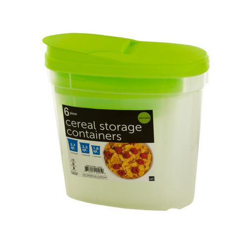 Nesting Cereal Storage Containers ( Case of 4 )