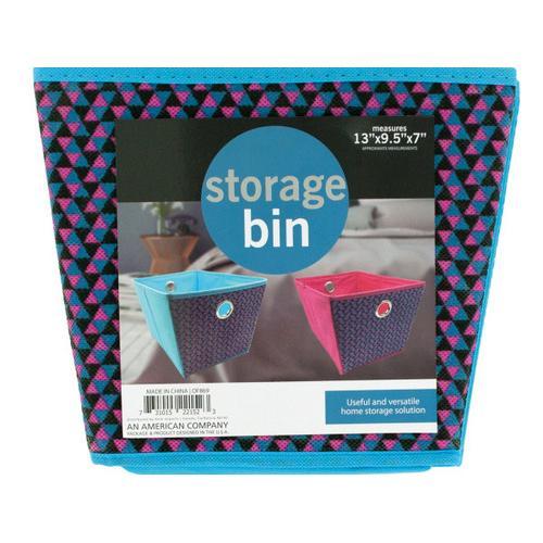 Cloth Storage Bin with Handles ( Case of 8 )