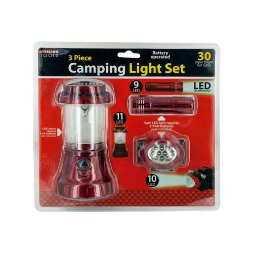 Camping Light Set ( Case of 4 )
