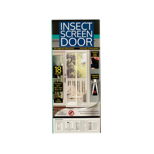 Insect Screen Door with Magnetic Closure ( Case of 8 )