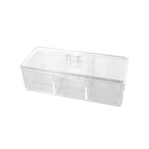 Lidded Multi Purpose Cosmetic Organizer ( Case of 6 )